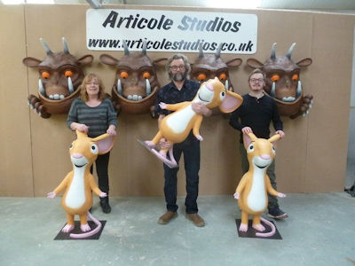 Models for Chessington World of Adventure Hotel