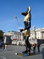 Anubis at Trafalgar Square