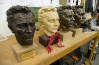 Busts of Richard Burton
