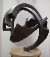 Cold cast bronze sculpture