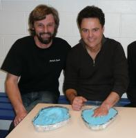 Handprints with Donny Osmond